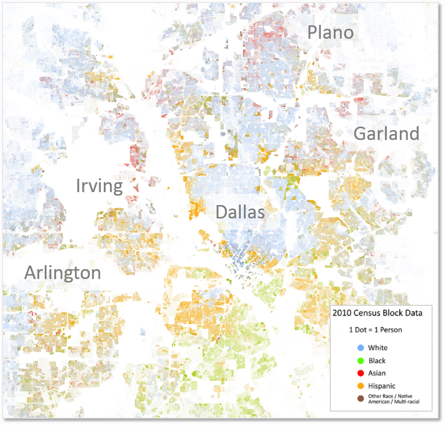 The most racially segregated cities in the South | Facing South