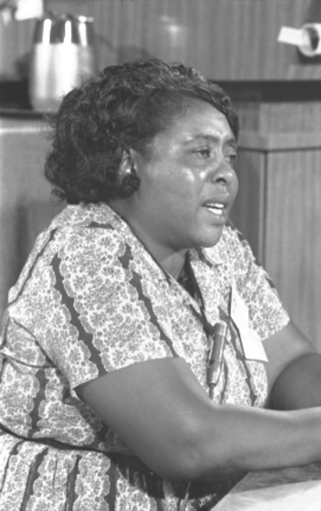 """I Question America"" -- Remembering Fannie Lou Hamer's ... 