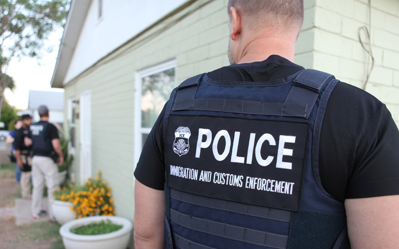 Hundreds of Southern immigrants detained in nationwide enforcement ...