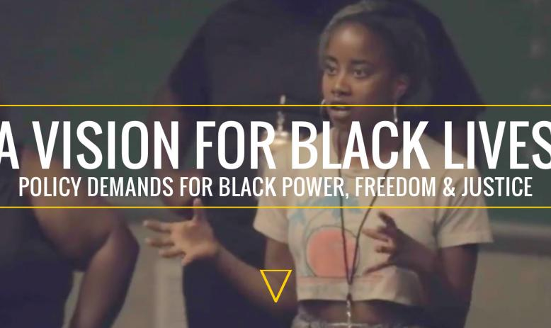 Black Lives Policy Agenda