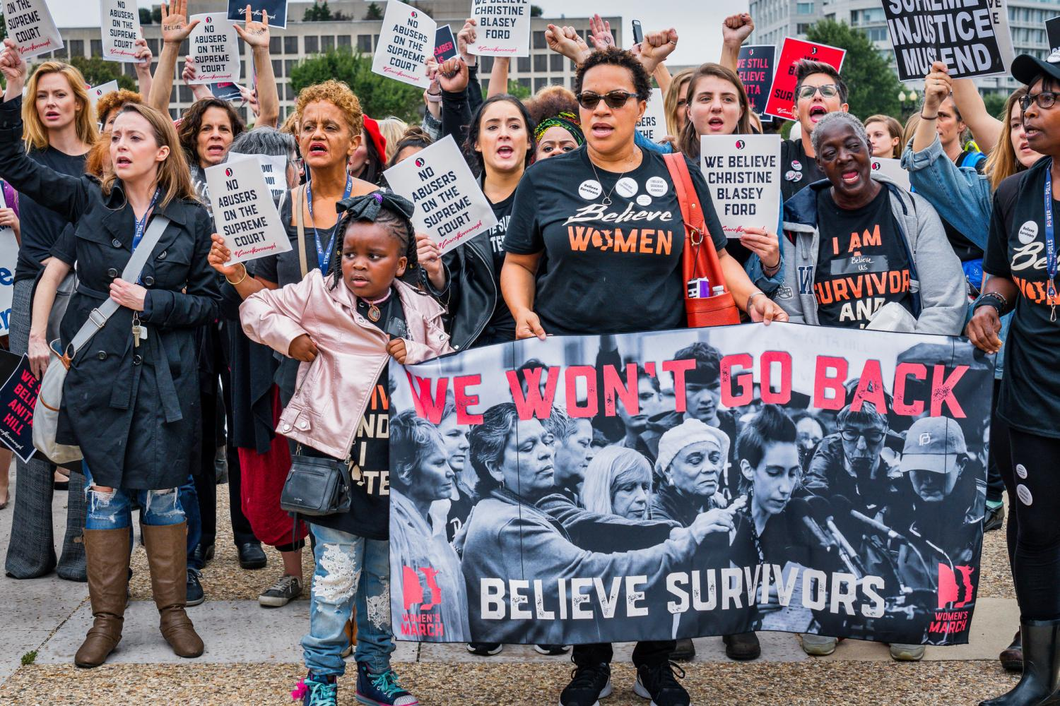 A Protest In Washington DC Against The Nomination Of Judge Brett Kavanaugh To US Supreme Court Photo By Mobilus Mobili Via Flickr