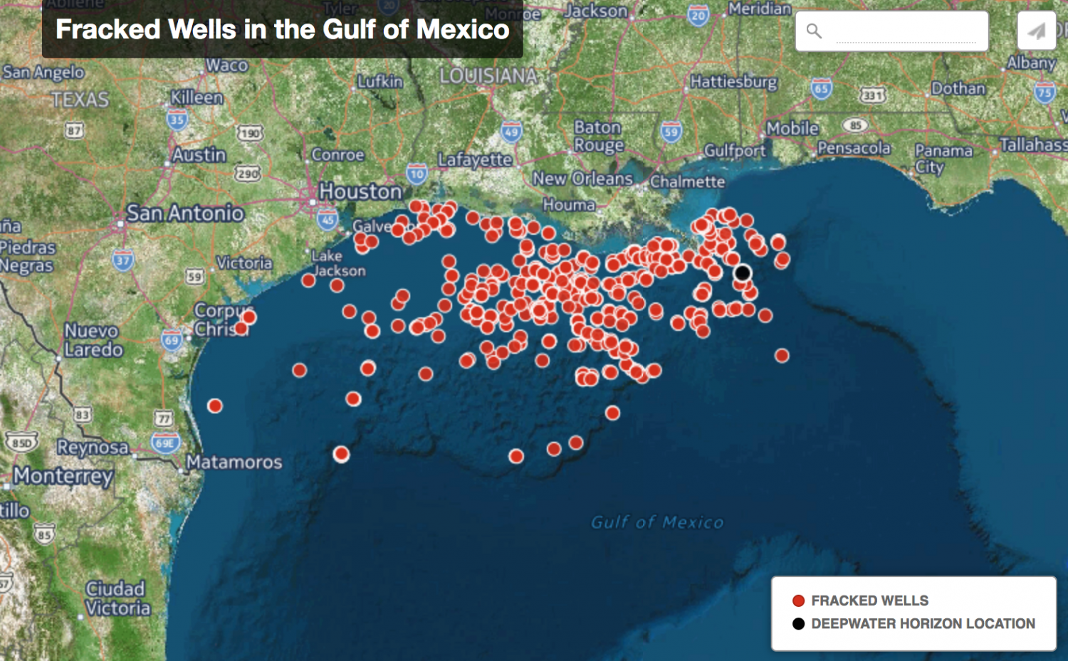 louisiana oil rig map Will The Gulf Of Mexico Remain A Dumping Ground For Offshore louisiana oil rig map
