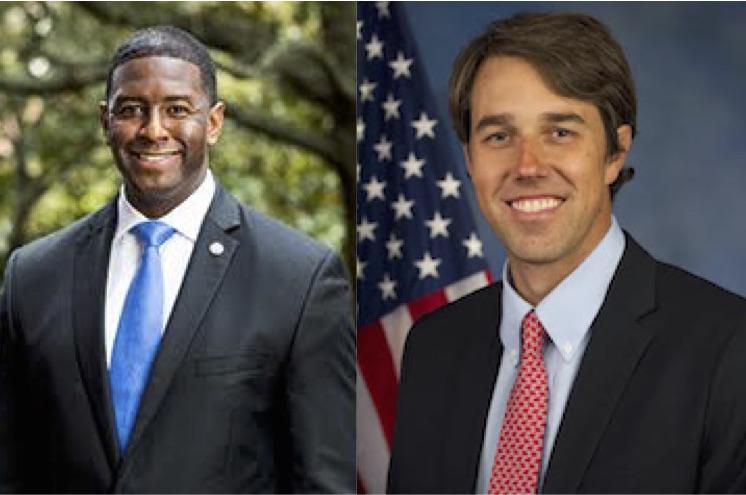 Image result for beto o'rourke and andrew gilliam