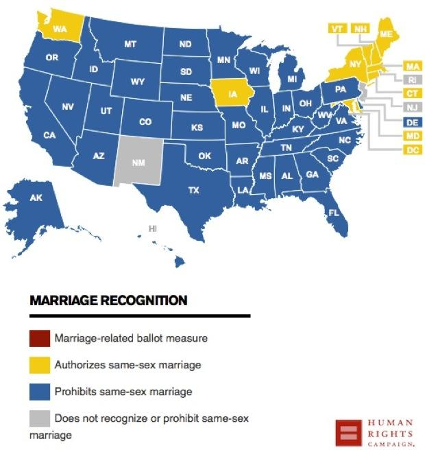 INSTITUTE INDEX: The South\'s long resistance to marriage equality ...